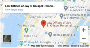 Law Offices of Jay S. Knispel Personal Injury-New York City Office